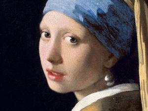 ЛАМПовый блог. Девушка с жемчужной сережкой. Ярмарка Мастеров - ручная работа, handmade.