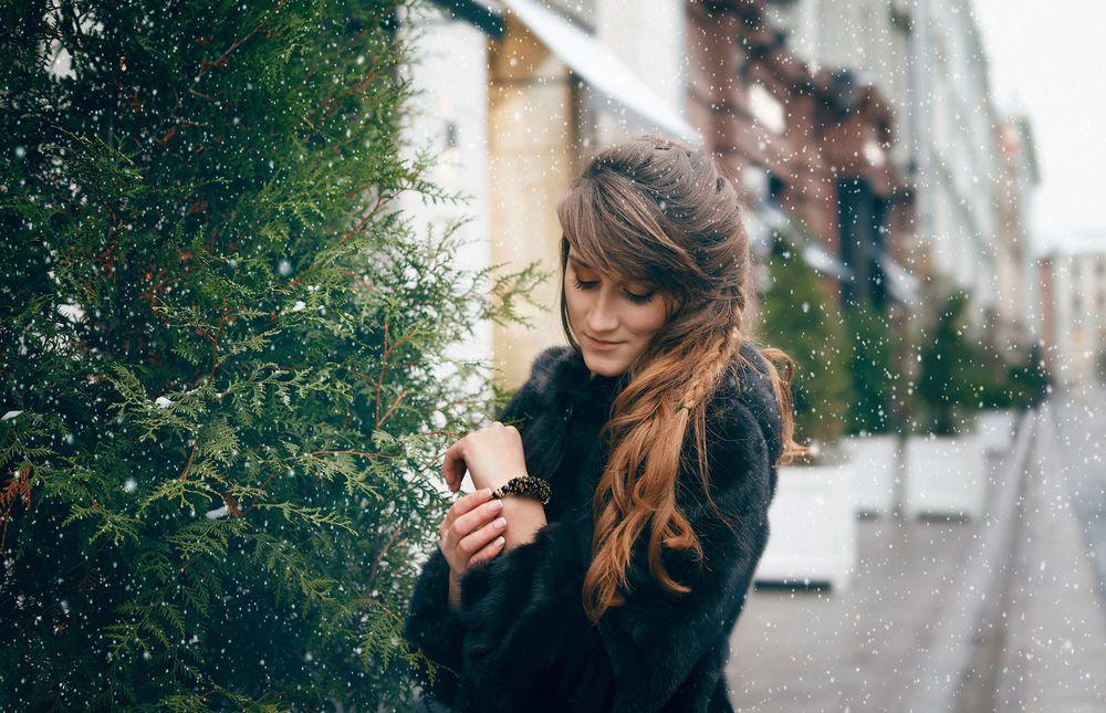 зимняя мода, украшения