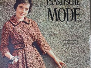 Praktische Mode — старый немецкий журнал мод 1/1960. Ярмарка Мастеров - ручная работа, handmade.
