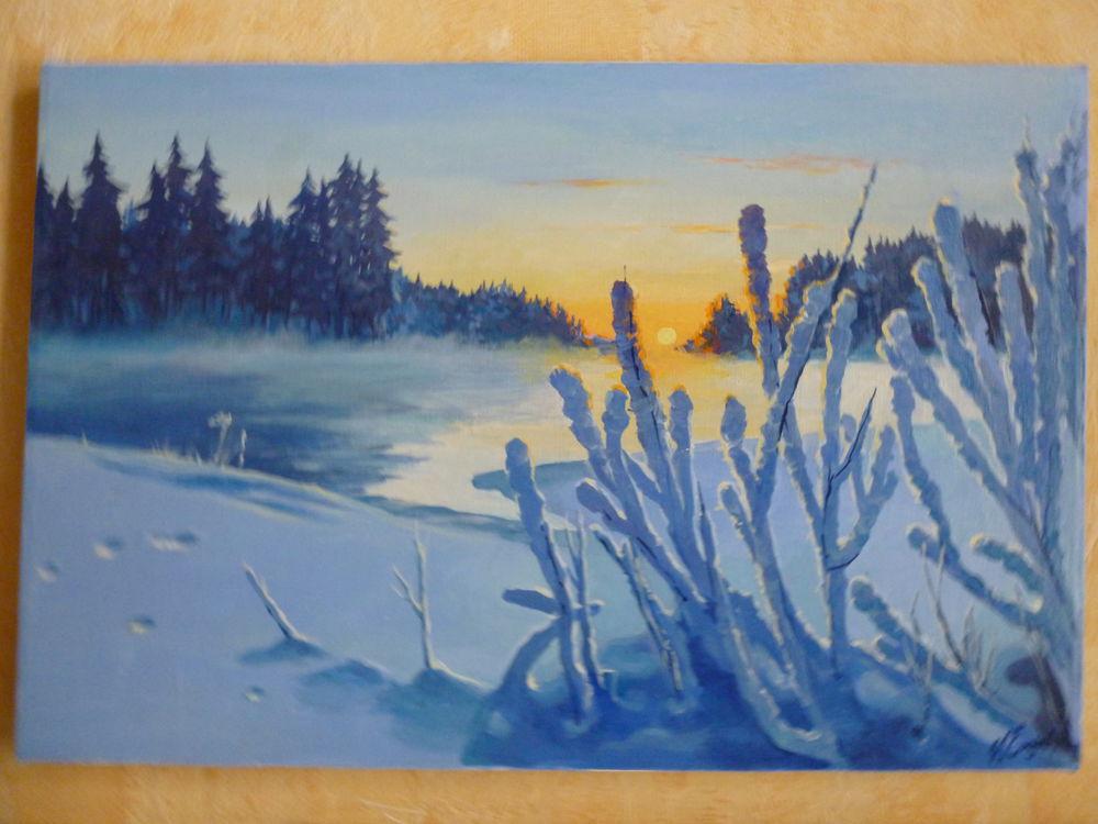 весенняя акция, зимний лес, солнечный