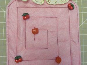 Шьем развивающую игрушку-лабиринт «Баночка с вареньем». Ярмарка Мастеров - ручная работа, handmade.