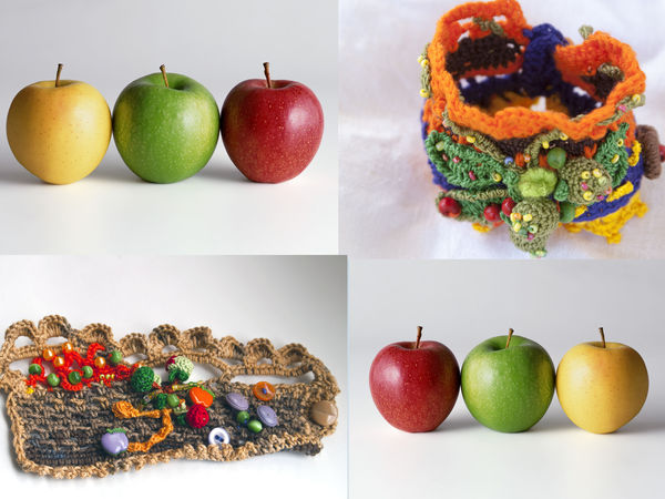 Яблочки да Ягодки | Ярмарка Мастеров - ручная работа, handmade