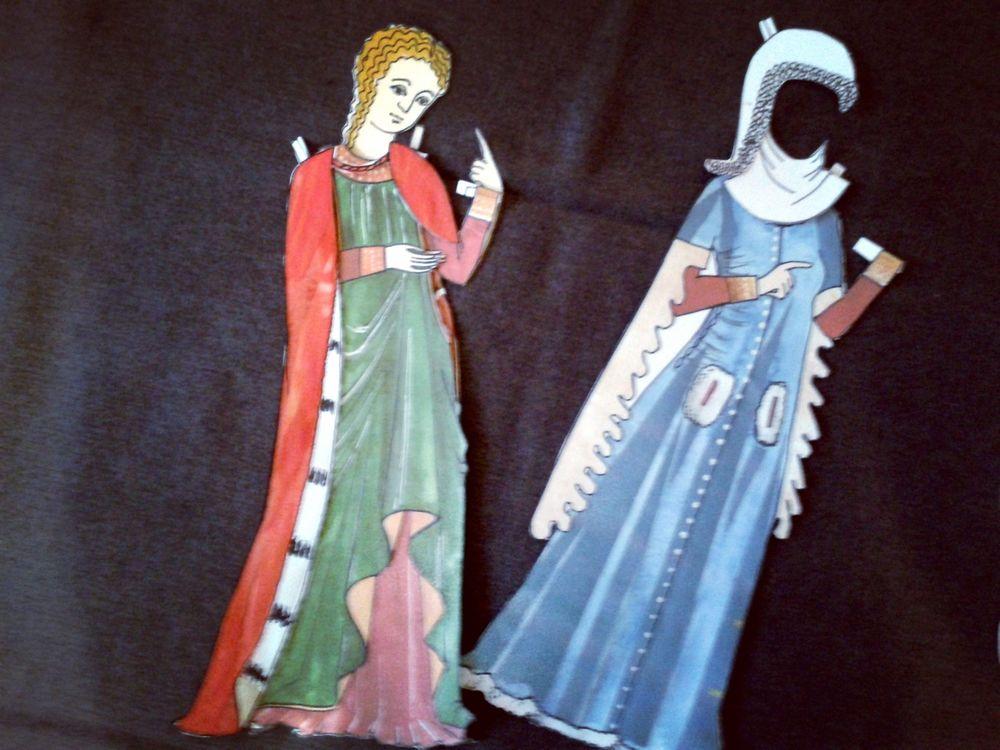 средневековая мода, лекции, история костюма, преподавание