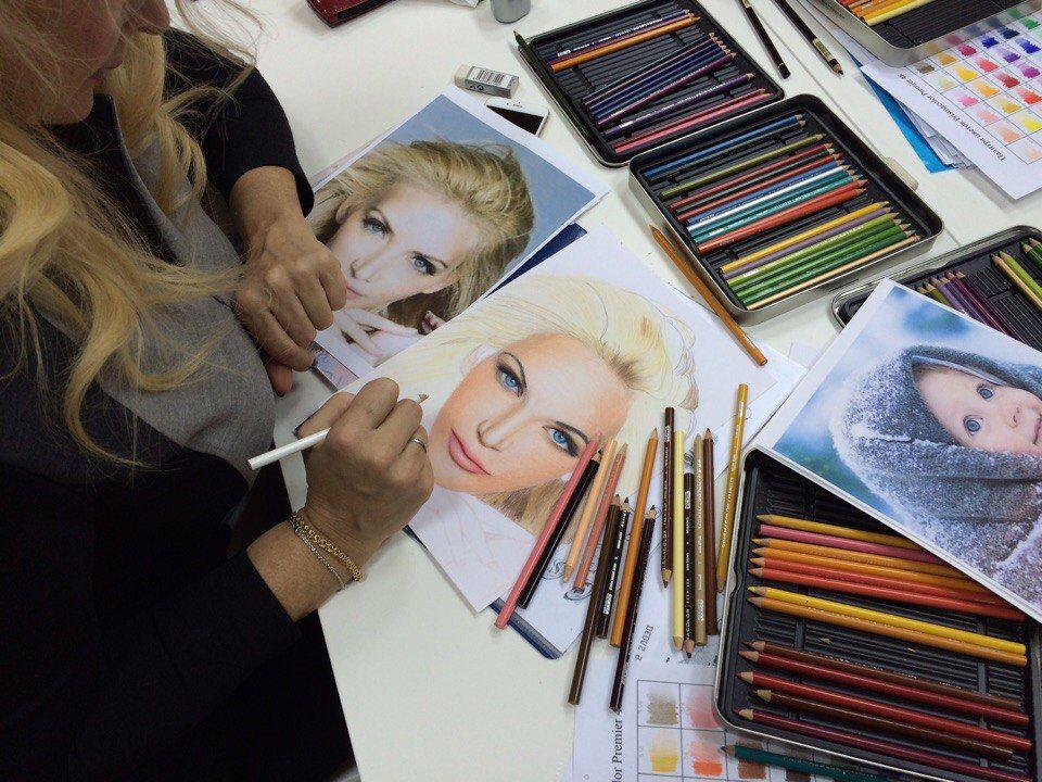 школа рисования, обучение рисованию, рисование для начинающих, портрет карандашами, реализм, портрет в подарок