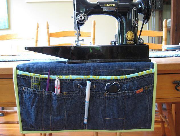 Сумка из старых джинсов без швейной машинки