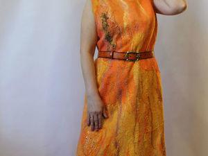 Платье солнечный берег. Ярмарка Мастеров - ручная работа, handmade.