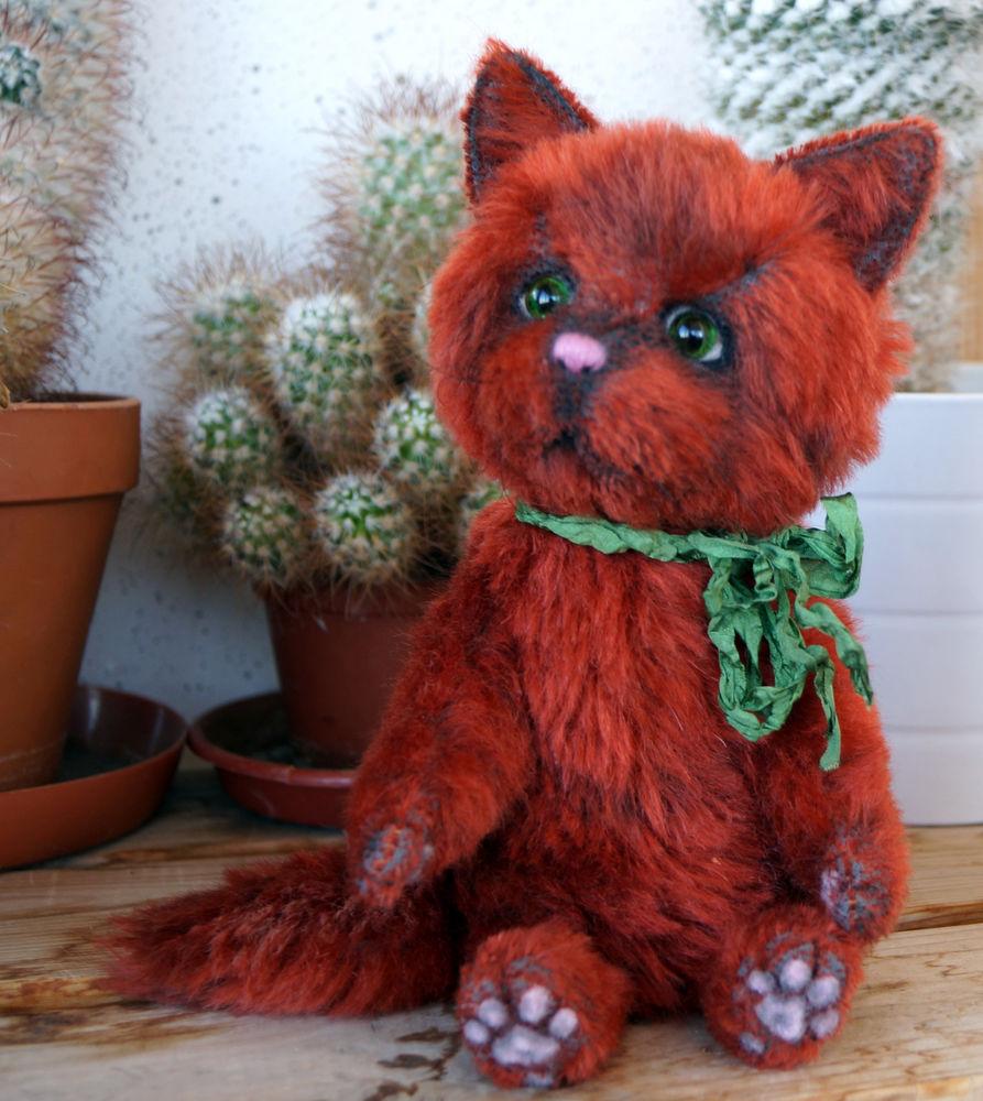 тедди, рыжий кот