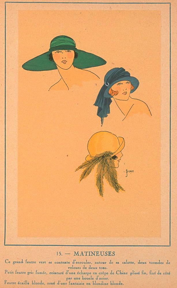 Ах, какие шляпки! Шляпная мода 1922 года по версии французского журнала «Les chapeaux du Tres parisien». Часть 2, фото № 36