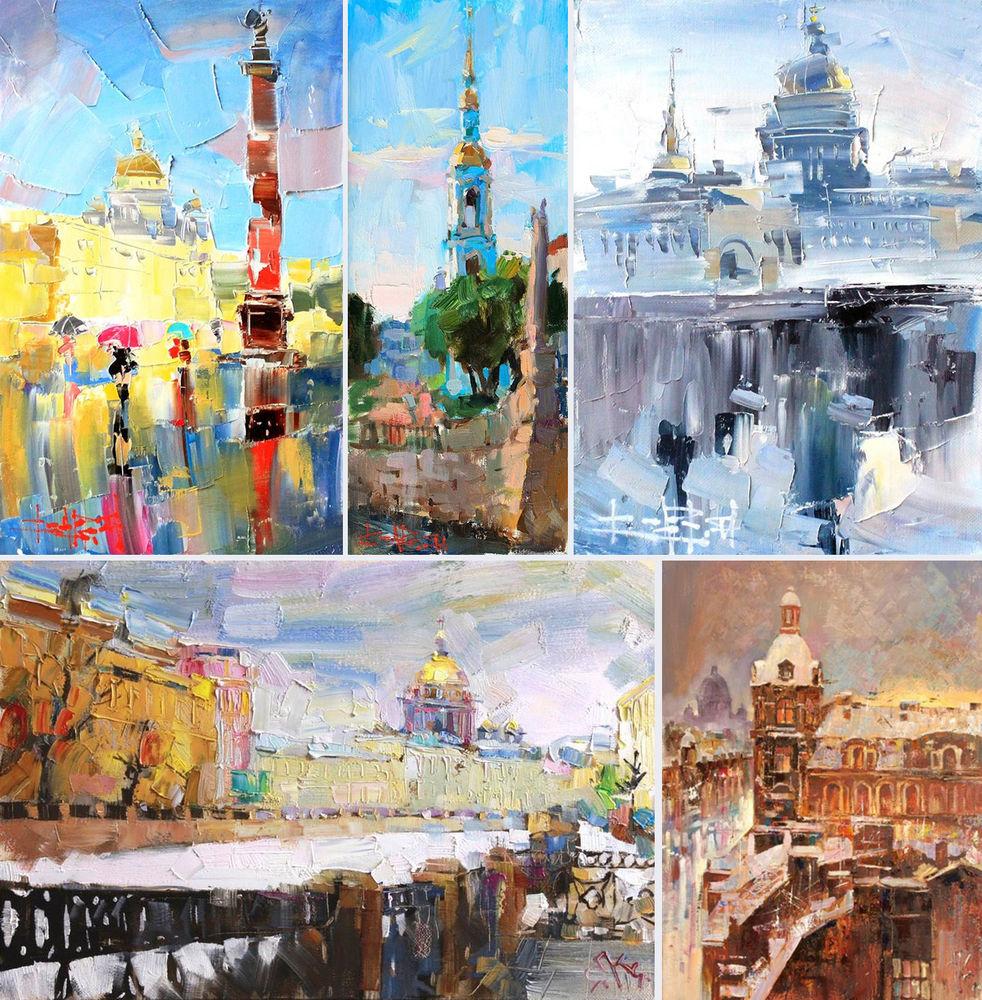 Konstantin Sukhopluev: Artist Painting Rain, фото № 17