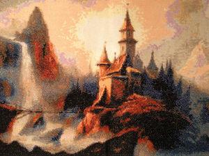 """Как я вышивала """"Замок"""". Ярмарка Мастеров - ручная работа, handmade."""