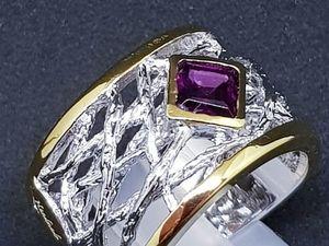 20% скидка на стильное кольцо. Ярмарка Мастеров - ручная работа, handmade.