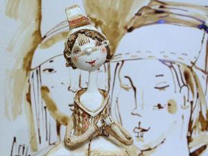 Новая кукла Коломбина (Сolombina)... | Ярмарка Мастеров - ручная работа, handmade