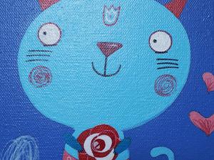 Рисуем милых котиков в детскую. Ярмарка Мастеров - ручная работа, handmade.
