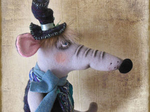 Новая работа !  Mr.Крыс.. Ярмарка Мастеров - ручная работа, handmade.