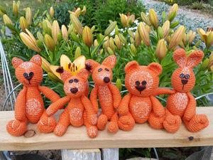 Милые мягкие игрушки Рыжики. Ярмарка Мастеров - ручная работа, handmade.