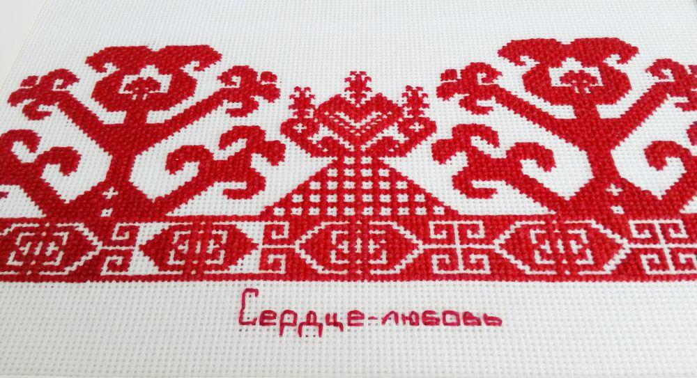 ручная вышивка, народные орнаменты, славянские традиции