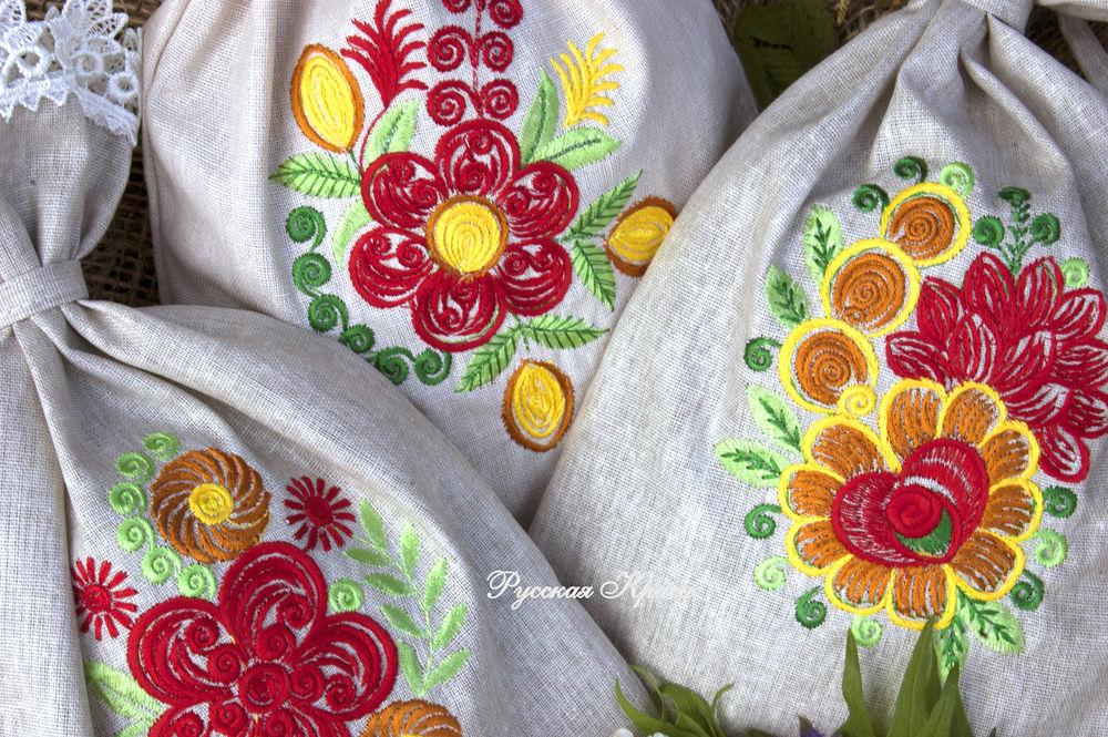 вышивка, идеальная вышивка, акция, ангелина груздева, русская краса, машинная вышивка, дизайн, дизайн вышивки, мешочек с вышивкой, лаванда