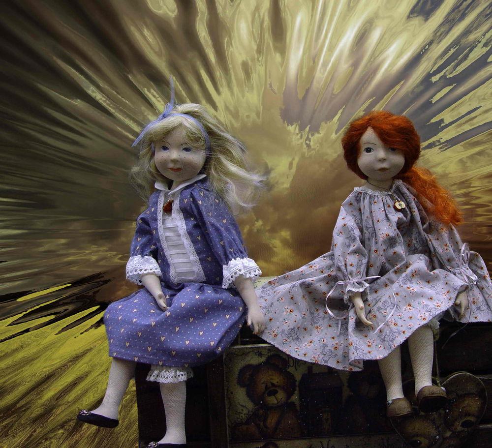 интерьерные куклы, выставка кукол