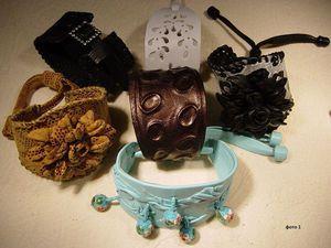 Мастерим красивый браслет из кожи. Ярмарка Мастеров - ручная работа, handmade.