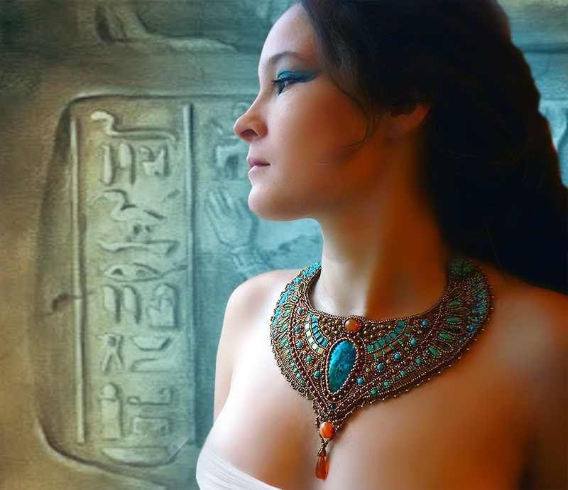 египет, колье