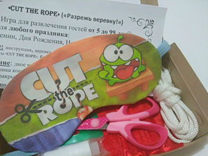 """Призовая игра """"Сut the Rope"""" — Разрежь веревку! Получи подарок!. Ярмарка Мастеров - ручная работа, handmade."""