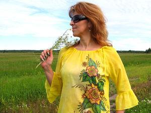Новинка - блуза
