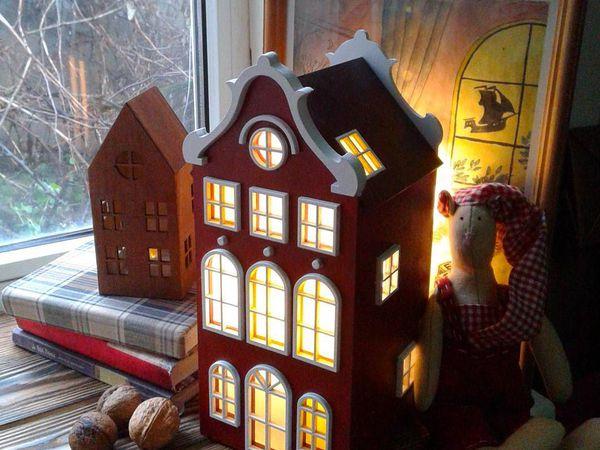 Красный домик- спустя полтора года :) | Ярмарка Мастеров - ручная работа, handmade