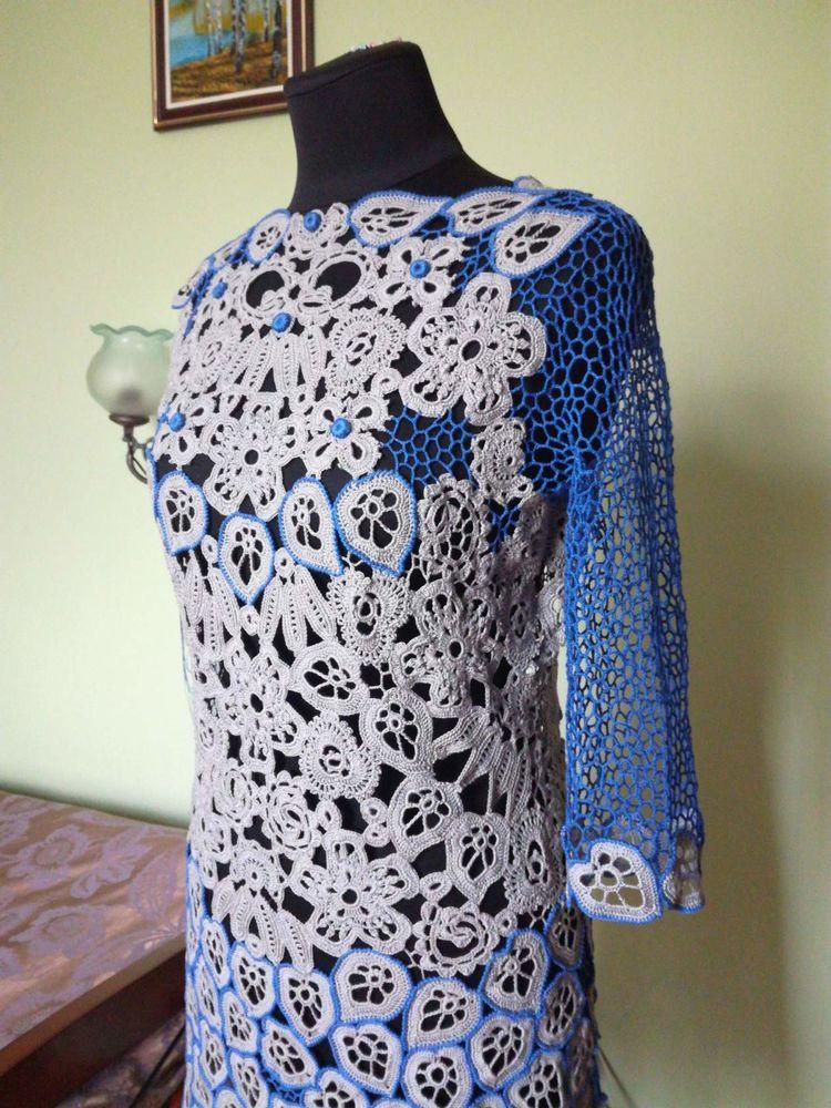 авторское платье, кружево