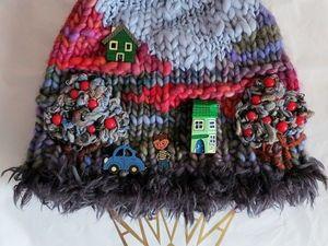 Мои коллекции принесли мне приз - Эксклюзивные шапочки от дизайнера Анны Лесниковой !!!!. Ярмарка Мастеров - ручная работа, handmade.
