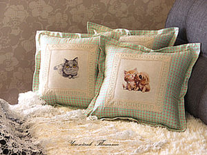 How to Sew Pillow Cases with Cute Prints: Simple and Beautiful. Livemaster - handmade