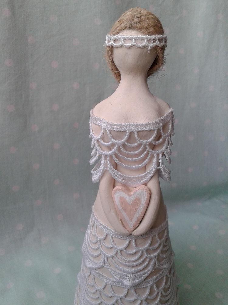 ангел, глина, кукла