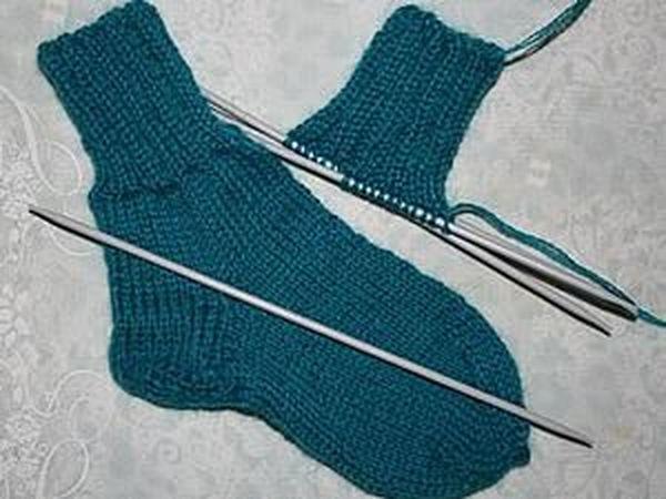 Мои первые носки   Ярмарка Мастеров - ручная работа, handmade