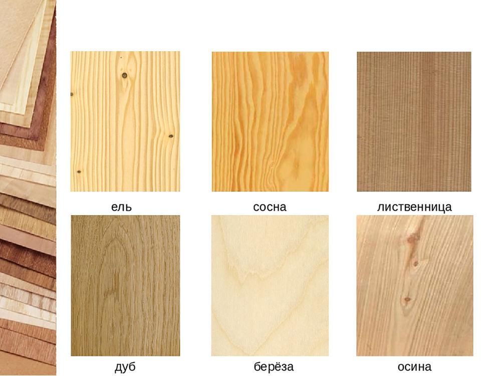 сосна, дуб, лиственница, массив, дерево, материал
