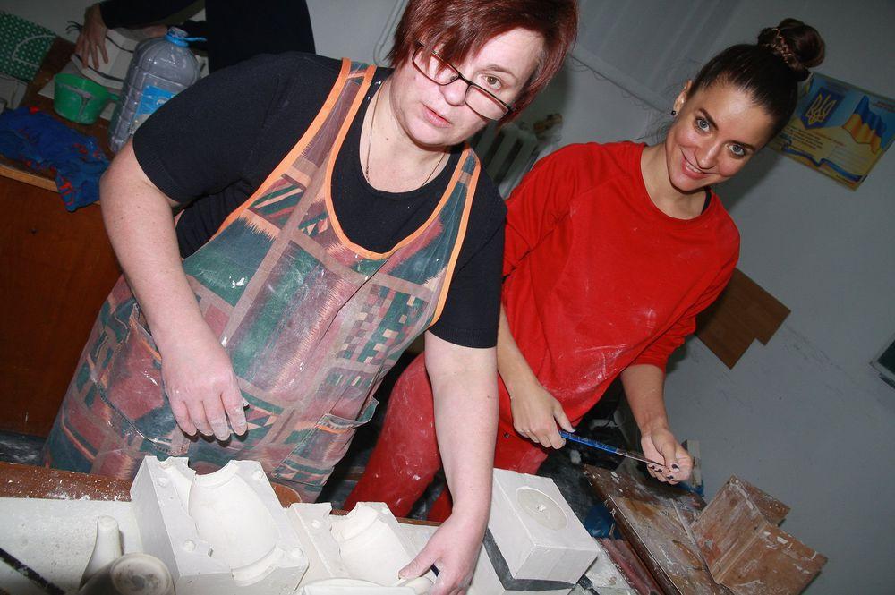 гипсовые формы, посуда ручной работы