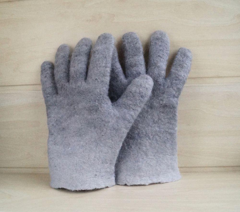 перчатки валяные, купить перчатки