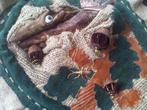 СКИДКА равноденствия: ведьмина торба с дракончиком Ромой, минус 2100. Ярмарка Мастеров - ручная работа, handmade.