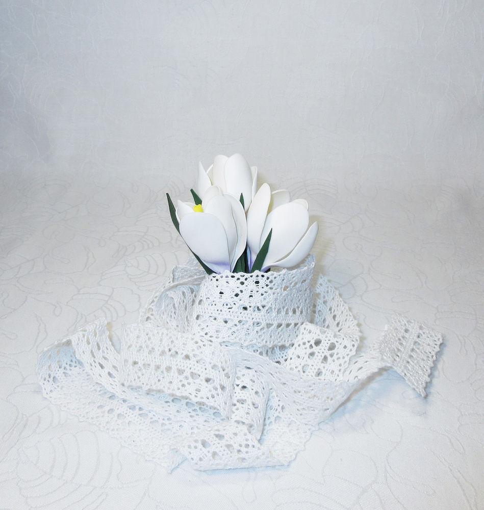 первоцветы, цветы из фоамирана