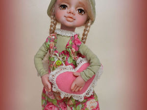 Розыгрыш куколки Розочки | Ярмарка Мастеров - ручная работа, handmade