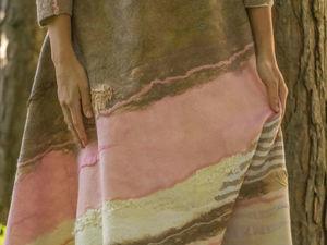 "Платье валяное ""Розовый кварц"". Ярмарка Мастеров - ручная работа, handmade."