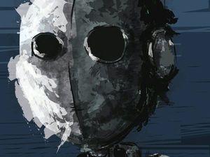 """День 40. Диджитал. Векторная зарисовка """"Из воды"""". Ярмарка Мастеров - ручная работа, handmade."""