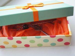 Варианты упаковки закладок в подарочные коробочки. Ярмарка Мастеров - ручная работа, handmade.