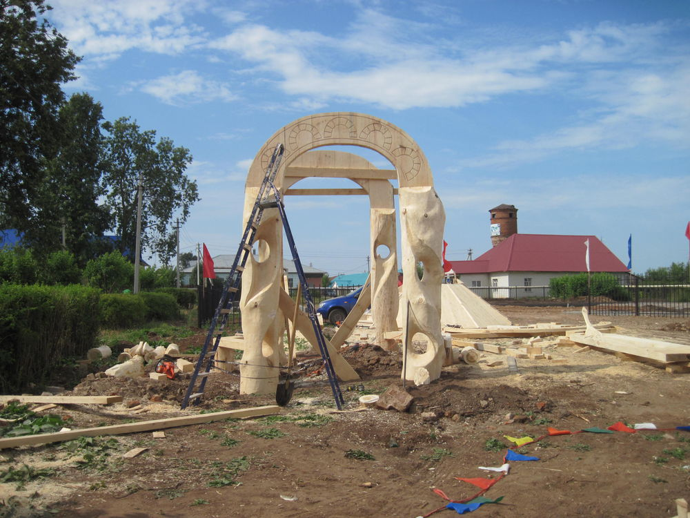 Об участии в международном фестивале деревянной скульптуры., фото № 16