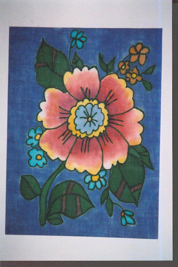 Мастер-класс по холодному батику (росписи по ткани)., фото № 7