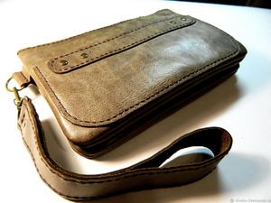 Новинка! Кожаная сумочка.. Ярмарка Мастеров - ручная работа, handmade.