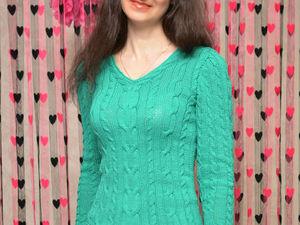 Распродажа красивого свитера и теплые тапочки. Ярмарка Мастеров - ручная работа, handmade.