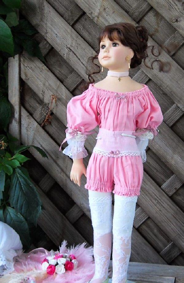 кукла бисквитного фарфора