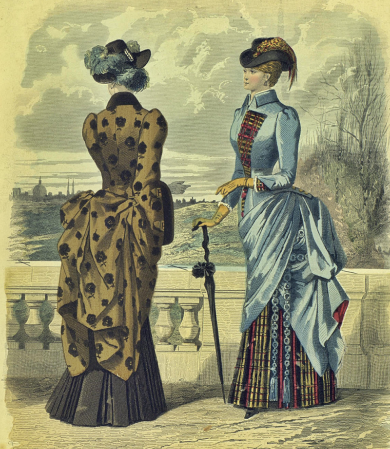 Восхитительная мода конца ХIХ века, фото № 21