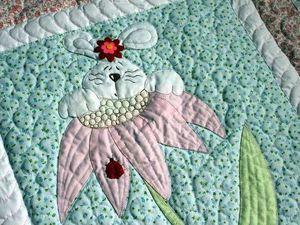 Приглашаю на аукцион: Одеяло для девочки. Ярмарка Мастеров - ручная работа, handmade.