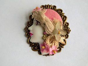 Женский портрет... Аукцион с нуля, добро пожаловать!. Ярмарка Мастеров - ручная работа, handmade.