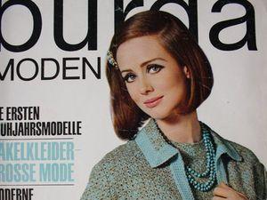 Burda moden 2/1965 Бурда Моден. Ярмарка Мастеров - ручная работа, handmade.